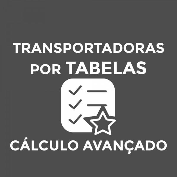 Módulo Transportadoras via Tabelas de Frete