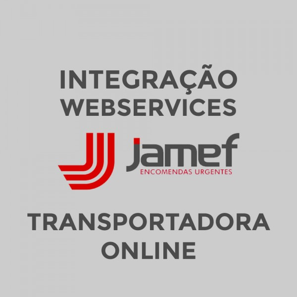 Módulo Transportadora Jamef via Webservice