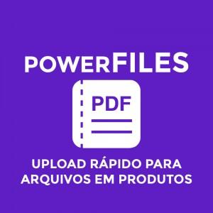 Módulo de Arquivos Anexos para Produtos