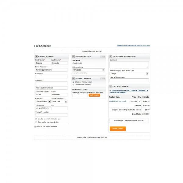 Módulo Checkout (OSC) Normatizado e Responsivo