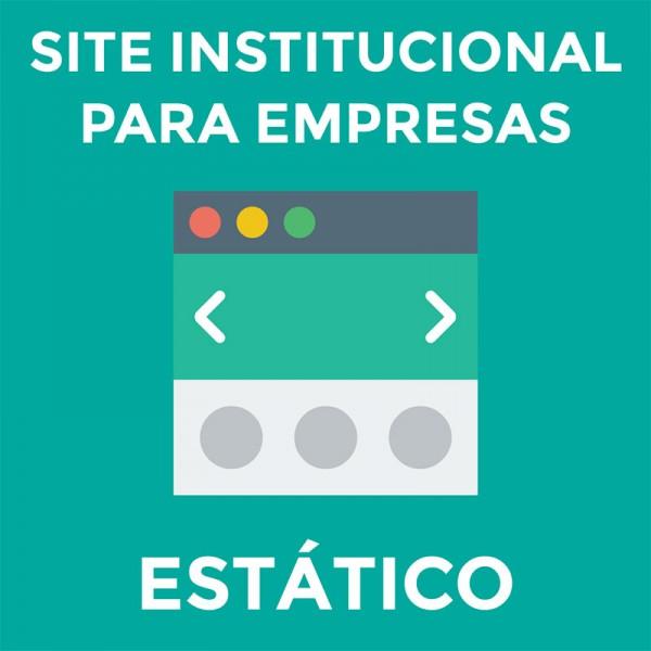 Site Institucional Responsivo para Empresas