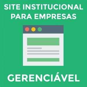 Site Institucional Responsivo Gerenciável para Empresas