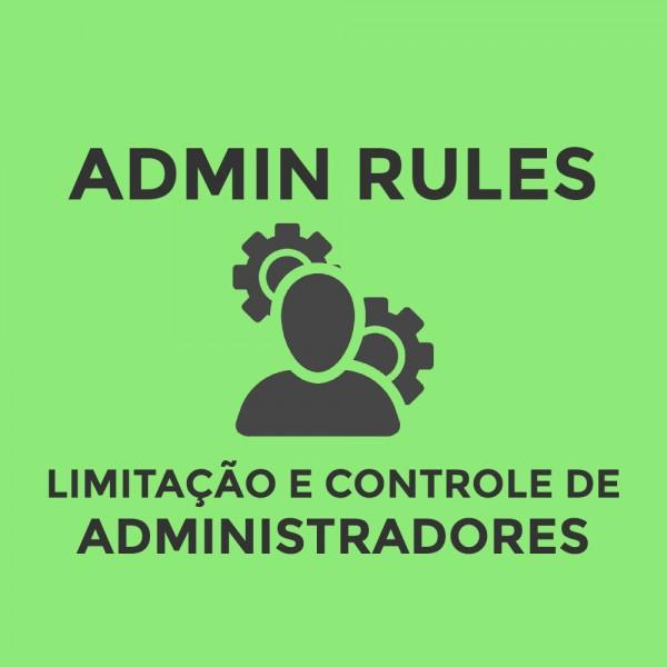 Módulo de Regras para Administradores