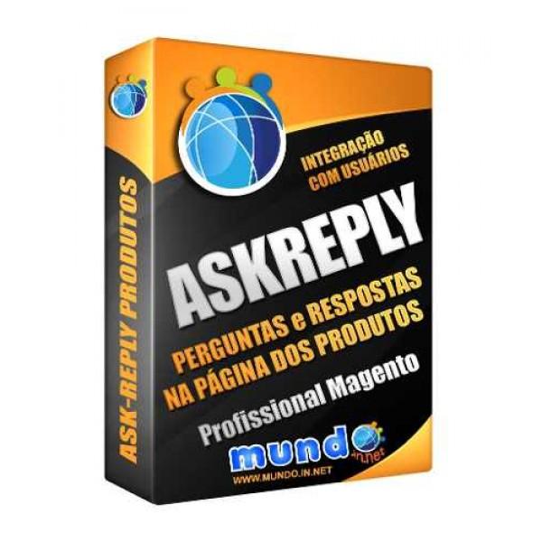 Módulo AskReply para Perguntas e Respostas em Produtos